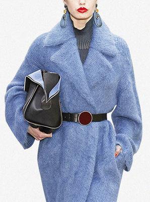 秋冬新款大翻領寬松呢子大衣女中長款毛呢外套